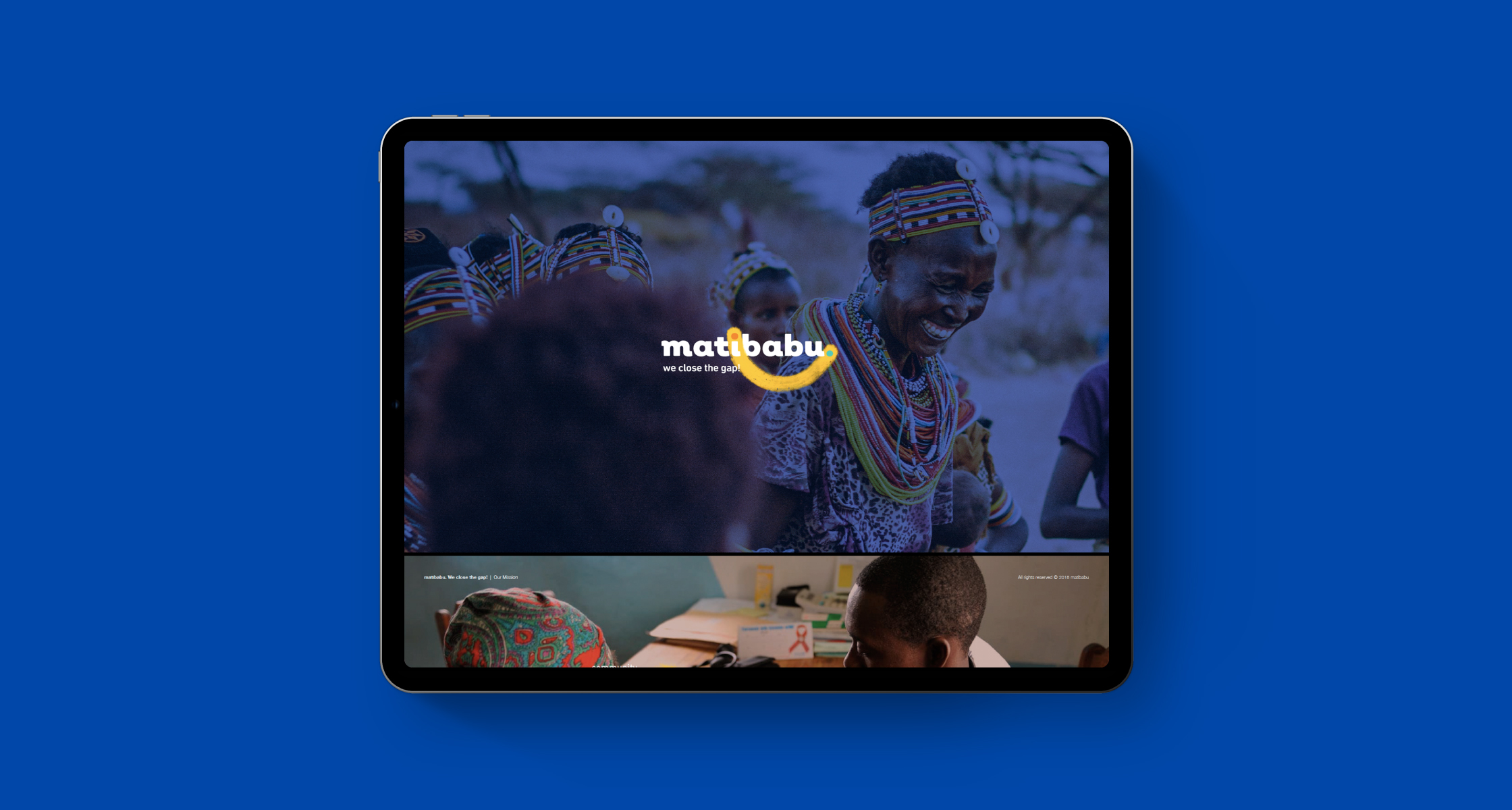 matibabu website mockup possibility - Possibility™ - Design a healthier and more sustainable future. -